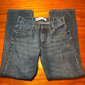 Levi 505 regular fit jeans with adjustable waist